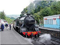 NZ8205 : Grosmont Station, North Yorkshire Moors Railway by John Lucas