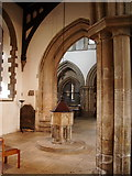 TA2609 : The Parish Church of St James, Grimsby, Interior by Alexander P Kapp