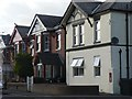 SZ0994 : Moordown: postbox № BH9 242, Malvern Road by Chris Downer