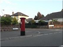 SZ0795 : Ensbury Park: postbox № BH10 289, Howeth Road by Chris Downer