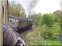 SO4382 : Leaving Craven Arms station by Raymond Knapman