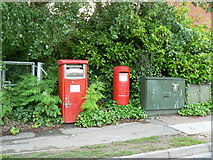 SU6553 : Postboxes - Wade Road by Sandy B