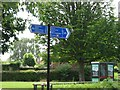 TL4661 : Unusually precise signpost by Colin Bell