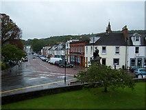 NX6851 : War Memorial Kirkcudbright by Julia MacDonald
