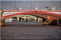 TQ3180 : Blackfriars Bridge by Peter McDermott