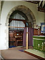 SD5287 : St Thomas' Church, Crosscrake, Organ by Alexander P Kapp