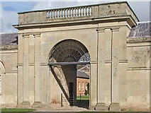 SJ5409 : Stable Block entrance, Attingham by Mike White
