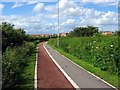 NZ4414 : Cycle Path by Graham Scarborough