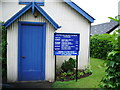 SD2774 : Great Urswick United Reformed Church, Porch and sign by Alexander P Kapp