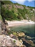 SX9364 : Redgate Beach by Derek Harper