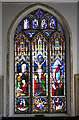 TG2322 : St Andrew's church  - east window by Evelyn Simak