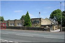 SE0726 : Pellon Social Club - Moor End Road by Betty Longbottom