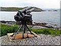NM2256 : 90mm gun taken from an armed merchantman wreck by Gordon Brown