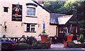 SO3620 : The Hunters Moon Inn at Llangattock Lingoed by David Harris