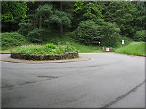 SK1789 : Ladybower - Fairholmes Car Park Entrance by Alan Heardman