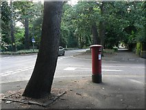 SZ0893 : Talbot Woods: postbox № BH3 183, Oban Road by Chris Downer