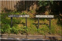 TQ2151 : Road name change by Ian Capper