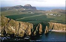 HZ1970 : Coastline near Malcolm's Head by Julian Paren