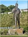 ST1797 : Chartist man at Blackwood by Robin Drayton