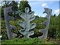 J2764 : Sculpture, Lisburn by Kenneth  Allen