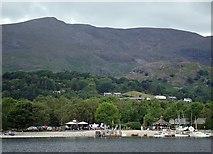 SD3097 : Coniston lakeside by David Pickersgill