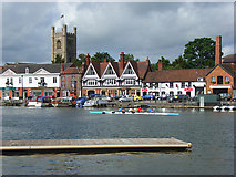 SU7682 : Thames Side, Henley by Andrew Smith