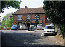 TQ4655 : The 'Stanhope Arms', Brasted, Kent by Dr Neil Clifton
