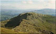 SH6544 : View south from Moelwyn Mawr by Nigel Brown