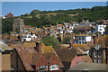 TQ8209 : Hastings Old Town Roofs and Church by Oast House Archive