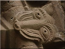 SO4430 : Kilpeck church stone carvings by andy dolman