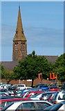 J5081 : Car park, Abbey Street, Bangor by Rossographer