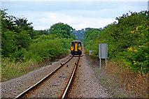 TA0623 : Train Approaching Barrow Haven by David Wright