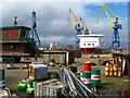 J3676 : The Belfast Dry Dock by Rossographer