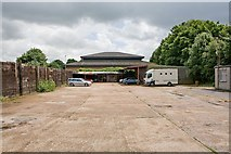 SU4828 : Premises in Bar End Industrial Estate by Peter Facey