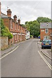 SU4828 : Towards the bottom of Wharf Hill, winchester by Peter Facey