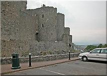 SH5831 : Harlech Castle by Dennis Turner