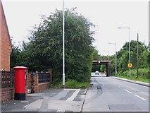 SK0305 : Disused Railway Bridge, Clayhanger by Geoff Pick