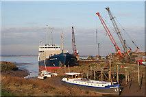 TA0623 : Barrow Haven Wharf by David Wright