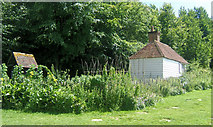 SU8712 : Toll Cottage at the Weald and Downland Open Air Museum, Singleton by Kevin Gordon