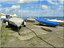 J5182 : Yachts, Ballyholme Yacht Club by Rossographer