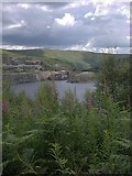 SN7948 : Llyn Brianne dam and quarry by Rudi Winter