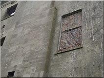 ST5295 : Piercefield House - bricked-up window by Nick Mutton
