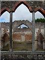 TA1450 : Through the arched window, Nunkeeling Church by Paul Harrop