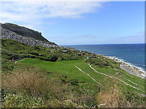 SY6873 : Chesil Cove, Portland by Maurice D Budden