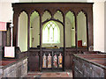 TG0321 : The church of St Thomas - rood screen by Evelyn Simak