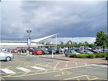 NS5170 : Imposing clouds over Great Western Retail Park by Stephen Sweeney