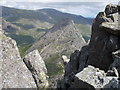 SH6659 : Tryfan from the top of Bristly Ridge by Peter S
