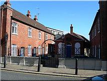 TQ7567 : Almshouses, Chatham High Street by Danny P Robinson