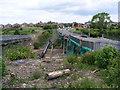 NZ3066 : Demolition of the Burn Bridge by Mac McCarron