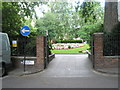 TQ3281 : Eastern entrance to gardens at Finsbury Circus by Basher Eyre